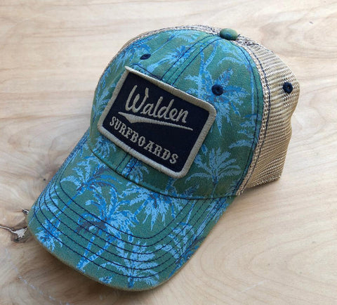 Walden palms trucker