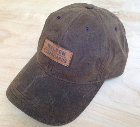 Walden Waxed hat: Brown