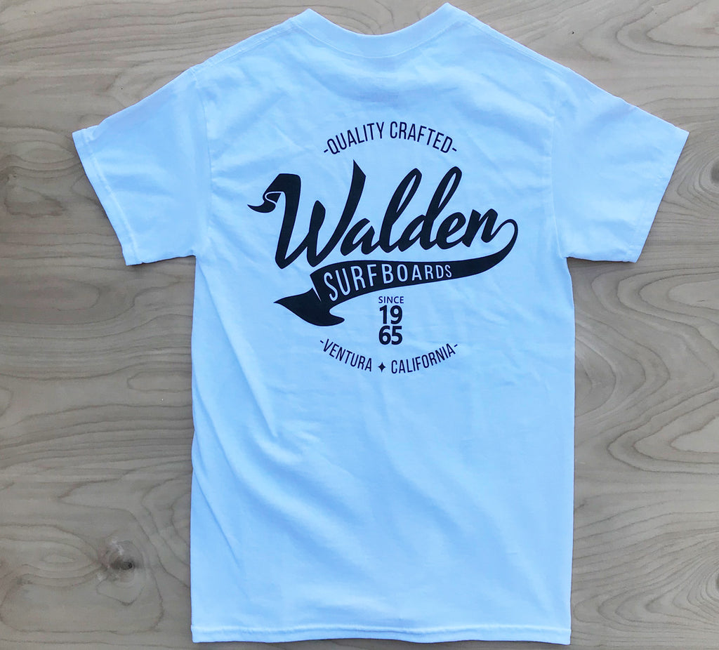 Walden Banner:  White