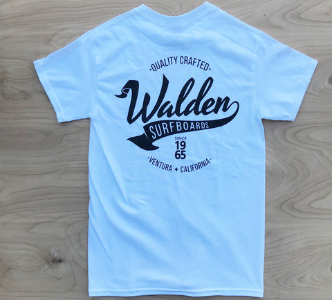 Sale Walden Banner:  White