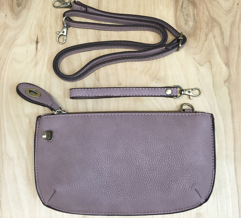 FINAL SALE Wristlet clutch : Wysteria