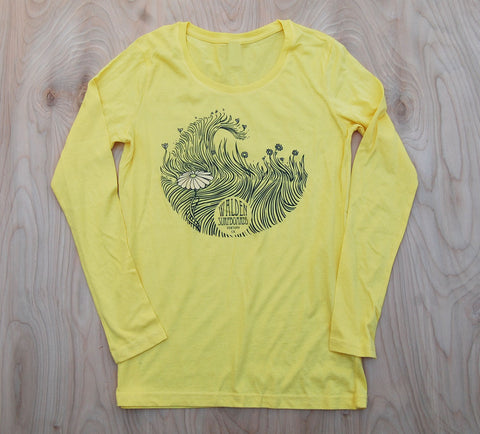Sea Grass long sleeve : yellow