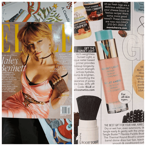 ELLE Magazine and Veil Cosmetics