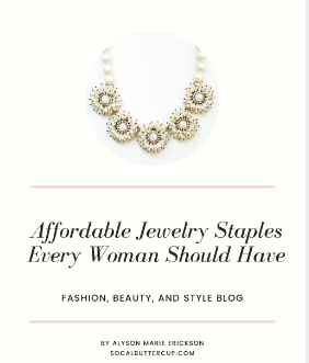 Affordable Jewelry Staples Every Woman Should Have