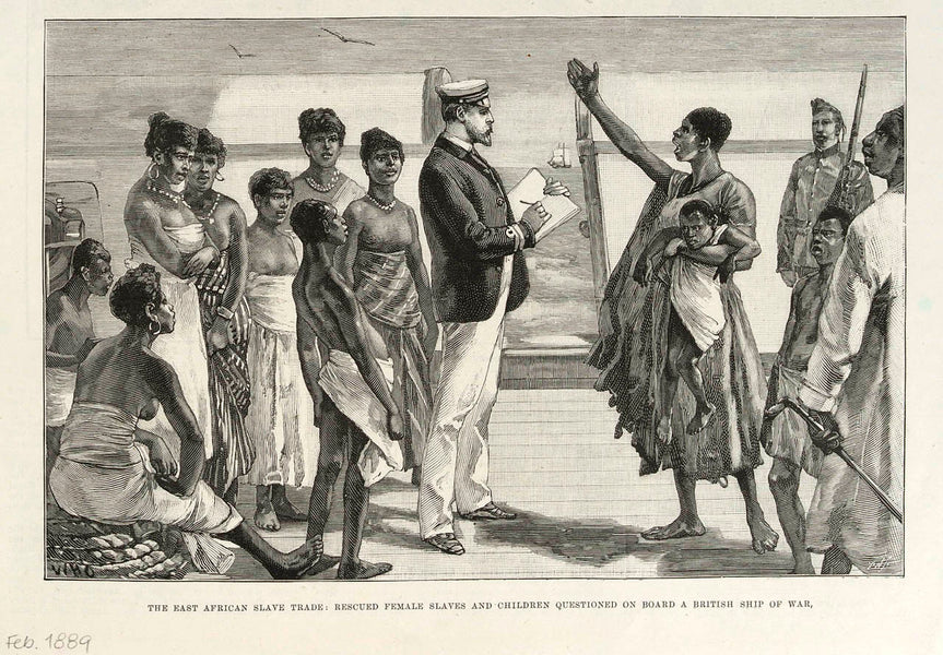 The Slave Trade In East Africa