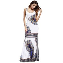 Load image into Gallery viewer, African Dashiki Outfits Dresses For Women Maxi Ankara Dress African Women Gowns Long Dress