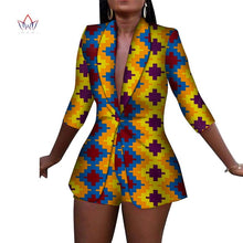 Load image into Gallery viewer, New Women Suit and Short Pants Sets African Clothes 2 Pieces Sets