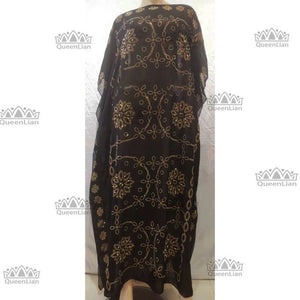 New African Oversize Chiffon Loose Design Diamond Length - Chocolate Boy Ltd