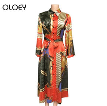 Load image into Gallery viewer, African Dresses For Women African Print Ankara Clothing Elegant Floral Dress - Chocolate Boy Ltd