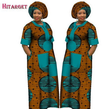 Load image into Gallery viewer, Autumn Dress for Women Dashiki Custom Made African Printed Dresses Women Comfortable Loose women