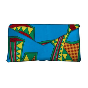 High Quality Bazin Riche Traditional Tribal African Wax Prints Fabric Women Fashion Hand Bag