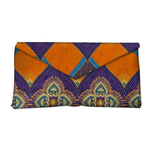 Load image into Gallery viewer, High Quality Bazin Riche Traditional Tribal African Wax Prints Fabric Women Fashion Hand Bag