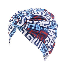 Load image into Gallery viewer, Women Ladies African Traditional Tribal Pattern Turban Headscarf Headwrap Hair Accessories