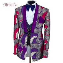 Load image into Gallery viewer, Men Dashiki Blazers African Print Jacket