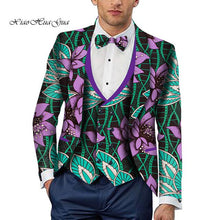 Load image into Gallery viewer, Party Wedding Traditional Tribal African Clothing Men's Printed Blazer Jacket Fashion