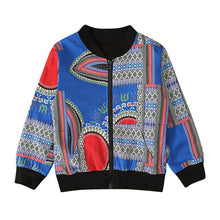 Load image into Gallery viewer, Autumn Baby Traditional Tribal African Printed Coat Toddler Kids Girl Boy Dashiki Outwear Jacket