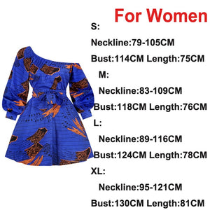 Ladies African Clothes Fashion Sexy Dress Dashiki Pants Traditional Tribal Ankara Print