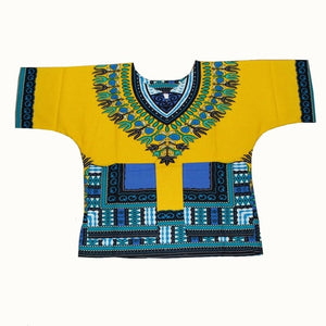 Wholesale Kids 2019 Child New Fashion Design Traditional African Clothing Print Dashiki - Chocolate Boy Ltd