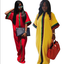 Load image into Gallery viewer, African Women Traditional Tribal Slim Sleeved Dress, New, Fashion
