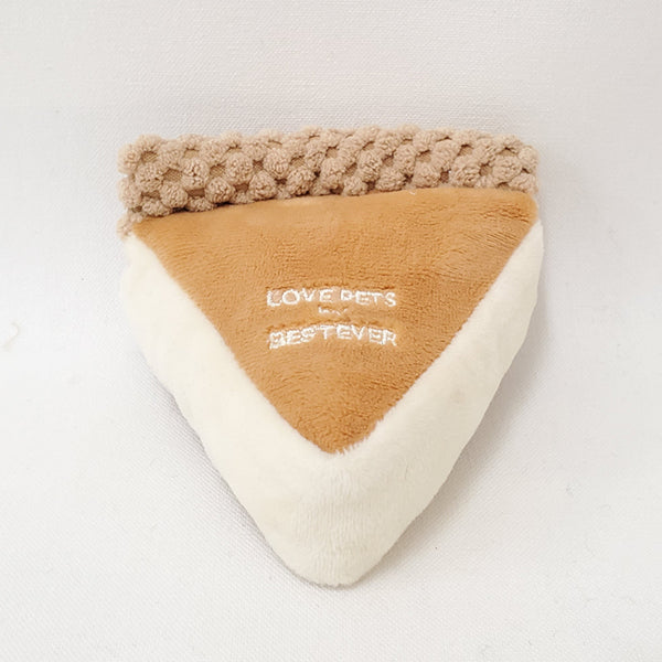 Baked Cheesecake Dog Toy