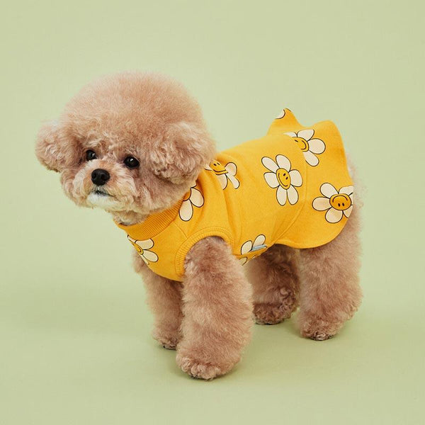 4Dogs Smile Flower Jersey ( 2 Colours ) - CreatureLand