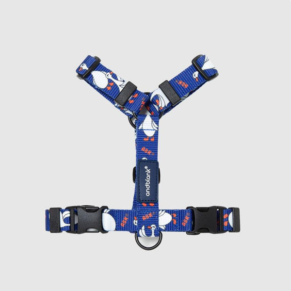 andblank Flying Duck Pet Harness - Blue - CreatureLand