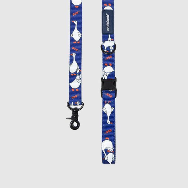 andblank Flying Duck Pet Leash - Blue - CreatureLand