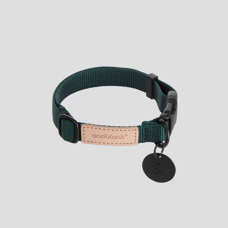 andblank Pet Collar - Green - CreatureLand
