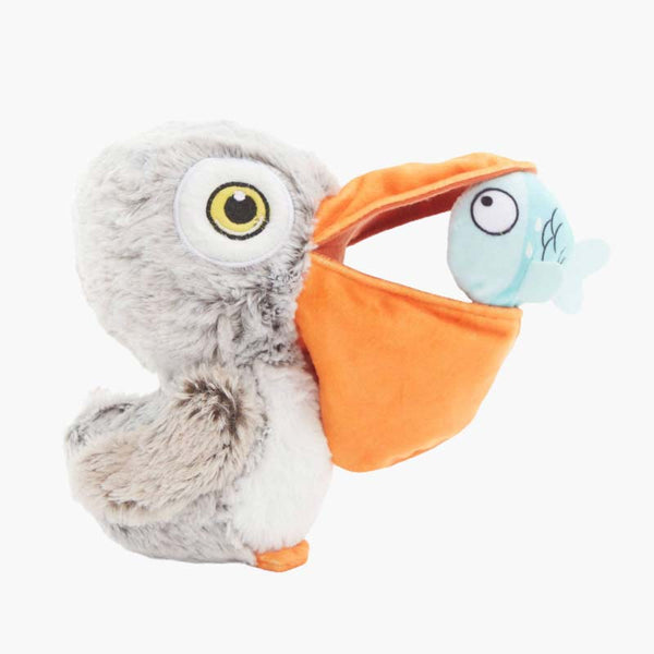 BARK Big Bill & The Beak-A-Boo Fish Dog Toy - CreatureLand