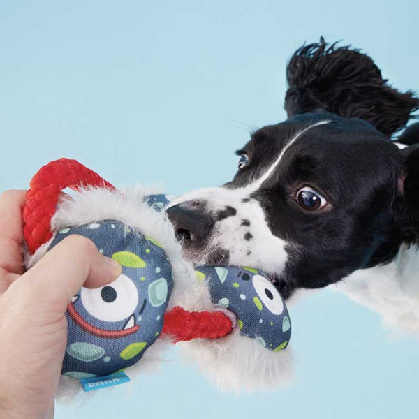 BARK Tri-Floyd Tugbug Rope Dog Toy - CreatureLand