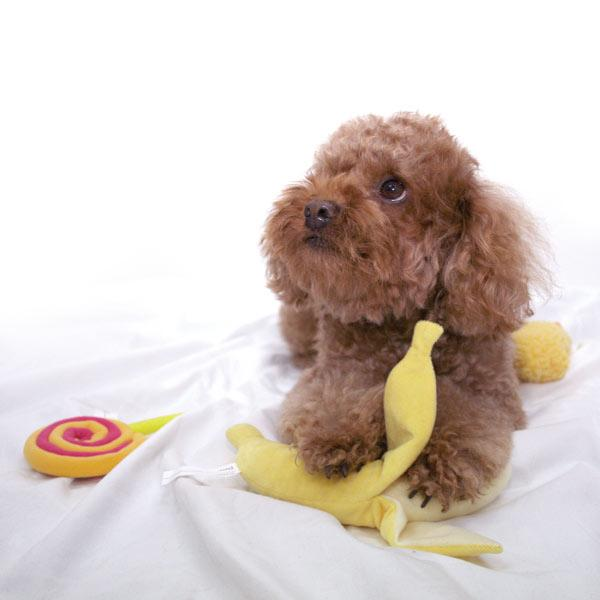 Bestever Banana Dog Toy - CreatureLand