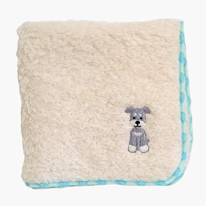 Bestever Embroidered Towel Handkerchief - Schnauzer - CreatureLand