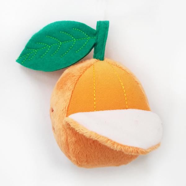Bestever Mandarin Orange Dog Toy - CreatureLand