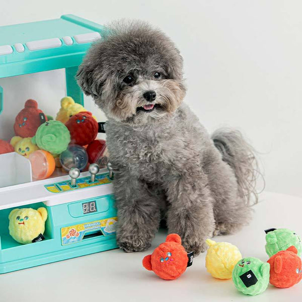 Bite Me Beardori Candy Ball Dog Toy (Set of 3) - CreatureLand