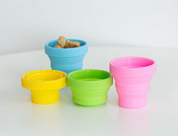 Bite Me Collapsible Water Cup (4 Colours) - CreatureLand
