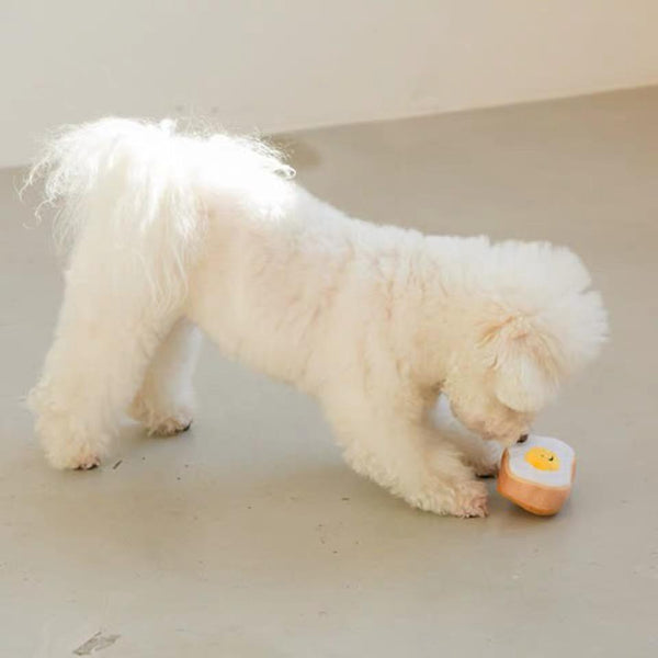Bite Me Egg Bun Dog Toy - CreatureLand