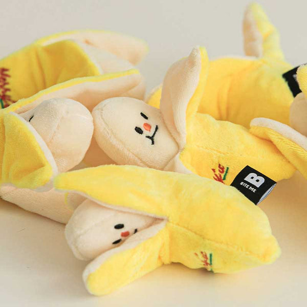 Bite Me Merry's Banana Nose Work Dog Toy - CreatureLand