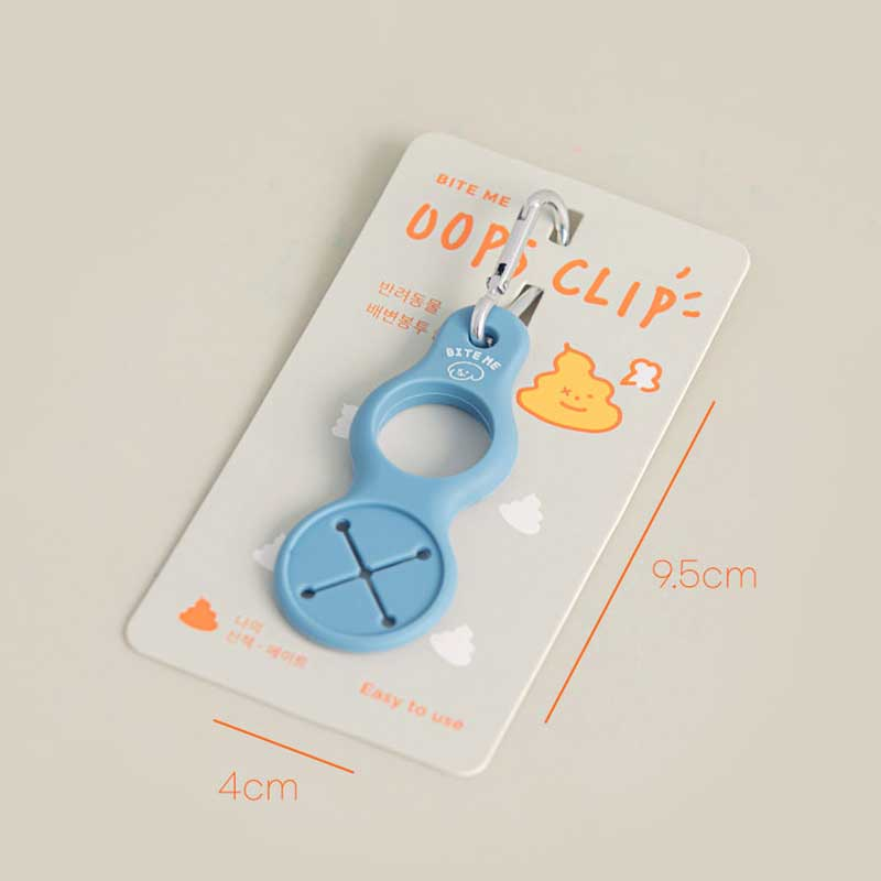 Bite Me Oops Clip Poop Bag Holder - CreatureLand