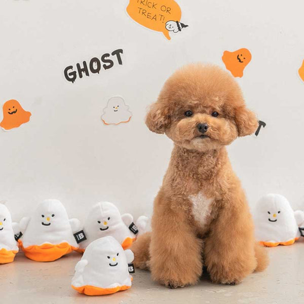 Bite Me Reversible Ghost Nose Work Dog Toy - CreatureLand