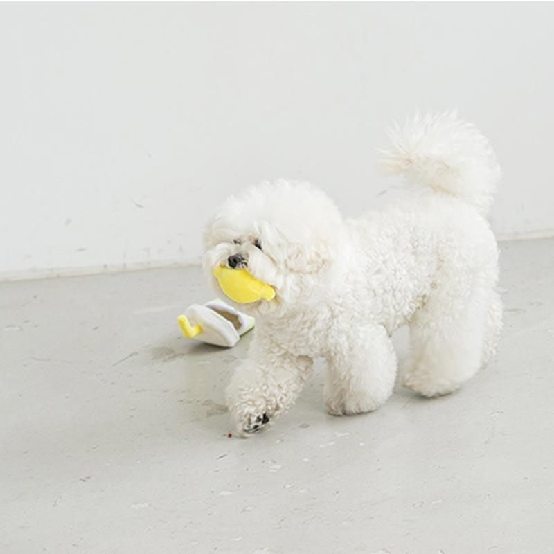 Bite Me Second Morning Lemonade Nose Work Dog Toy - CreatureLand