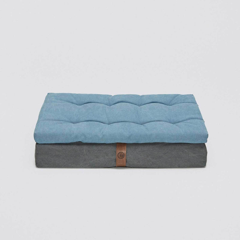 Cloud7 Dog Bed Moon Basalt - Blue - CreatureLand