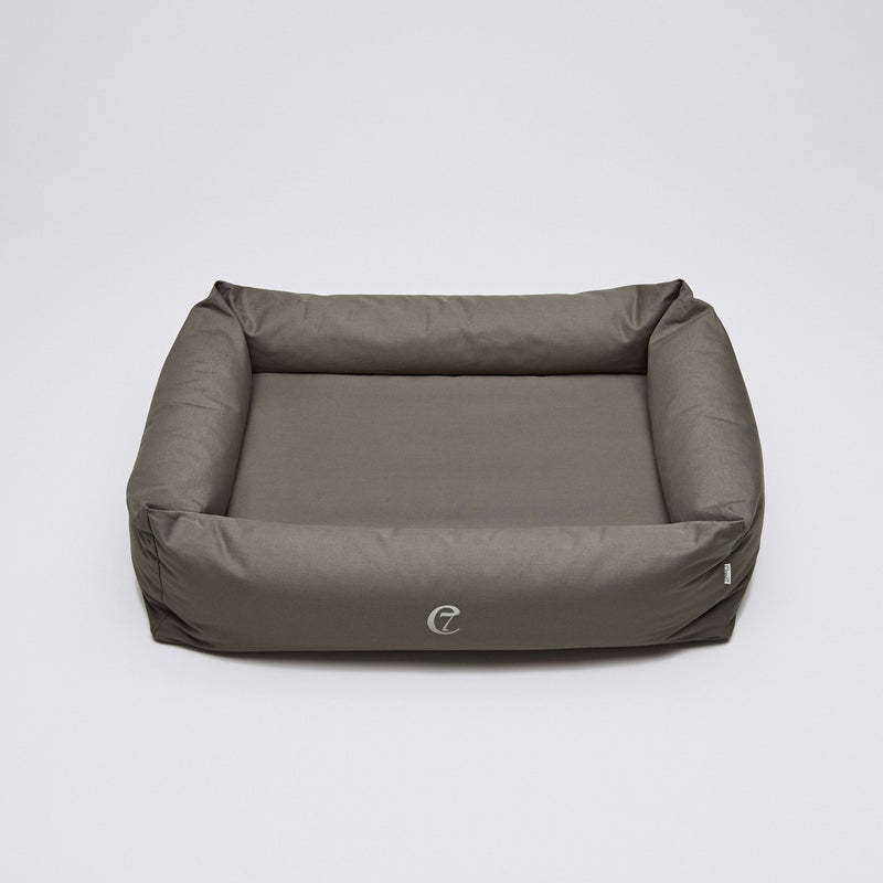 Cloud7 Dog Bed Sleepy Organic Canvas - Olive - CreatureLand