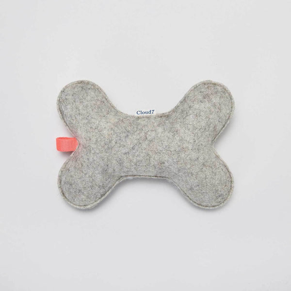 Cloud7 Organic Felt Toy Bone - CreatureLand