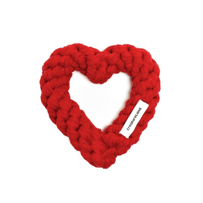 CreatureLand All You Need Is Love Dog Rope Toy - CreatureLand