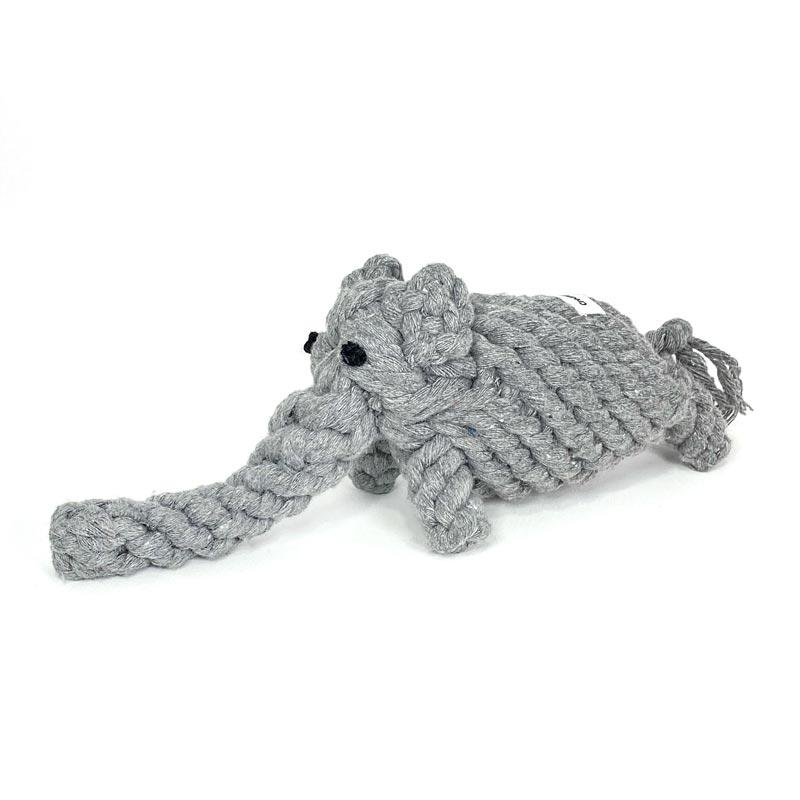 CreatureLand Ellie-Phant Dog Rope Toy - CreatureLand