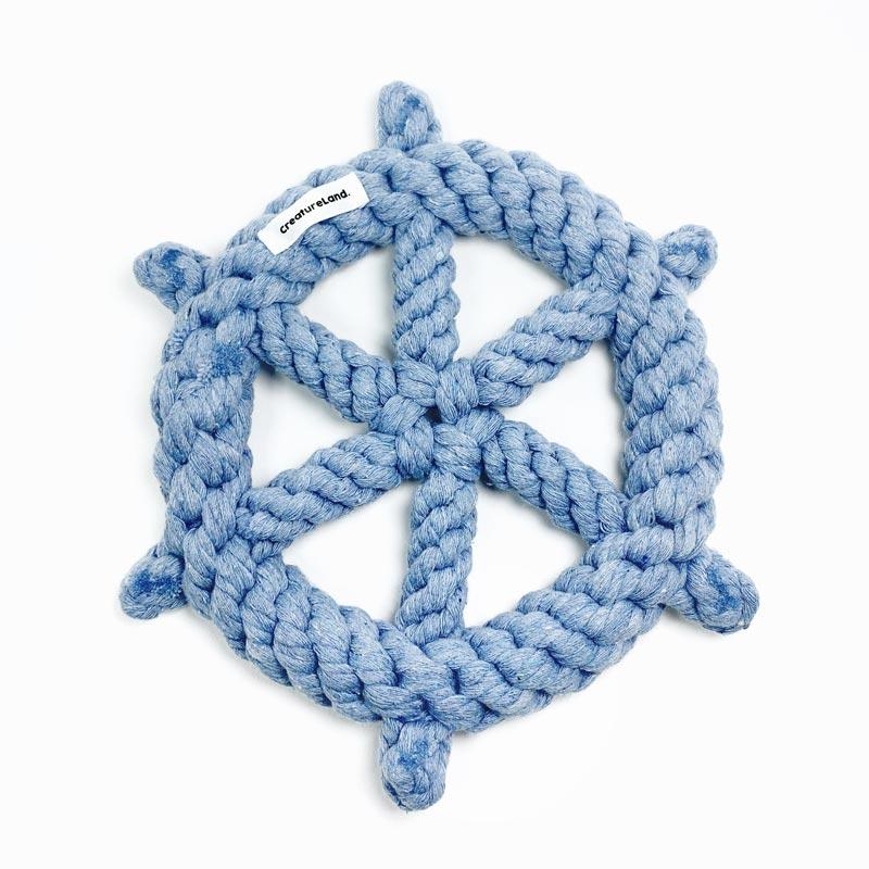 CreatureLand Wheel Dog Rope Toy - CreatureLand