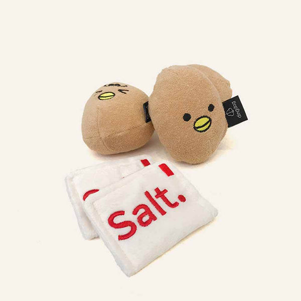 Ding Dog Egg and Salt Nose Work Toy Set - CreatureLand