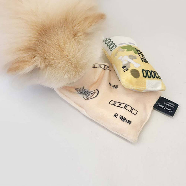 Ding Dog Envelope with Money Nose Work Toy - CreatureLand