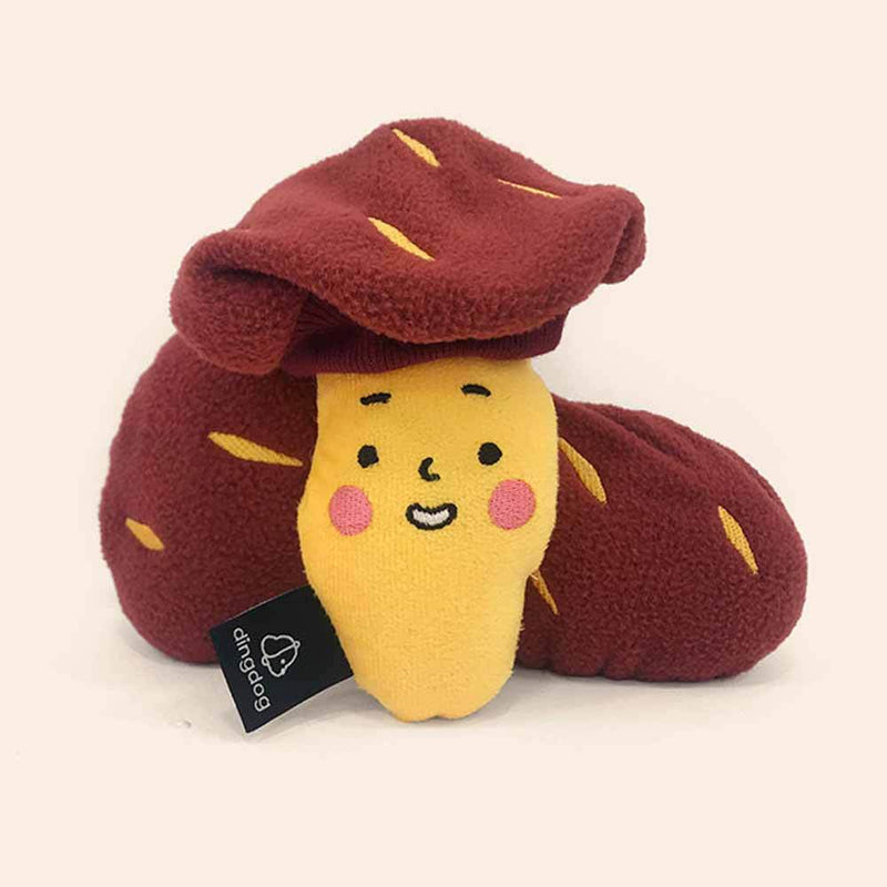 Ding Dog Sweet Potato Nose Work Dog Toy - CreatureLand
