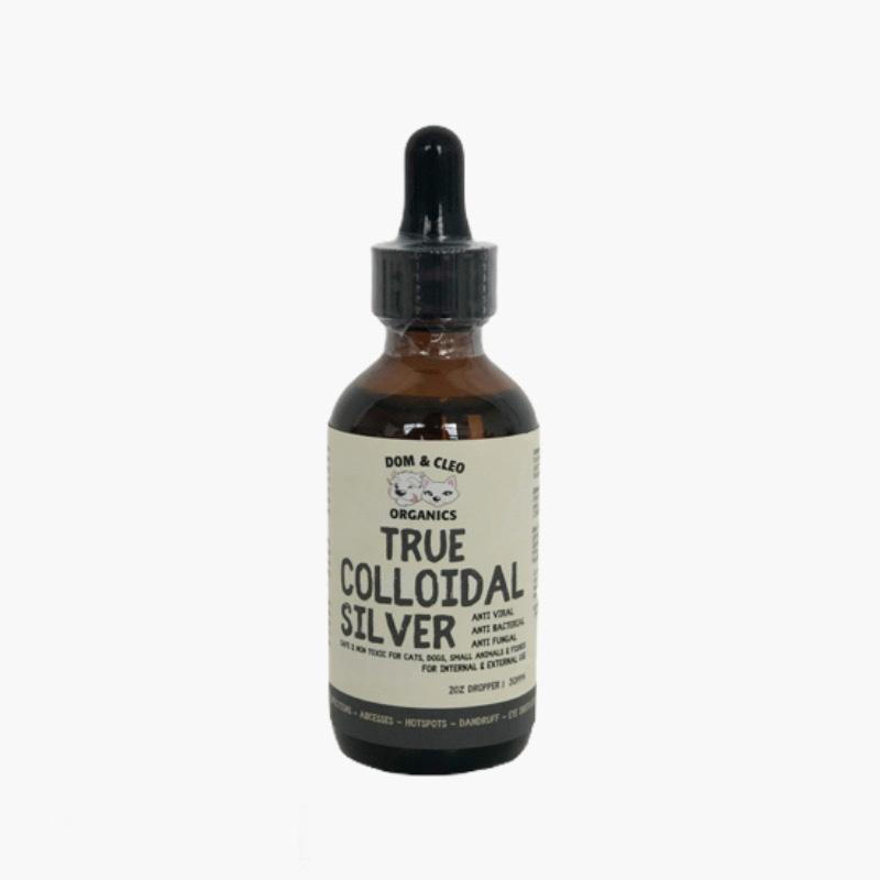 Dom & Cleo Organics True Colloidal Silver Dropper - CreatureLand